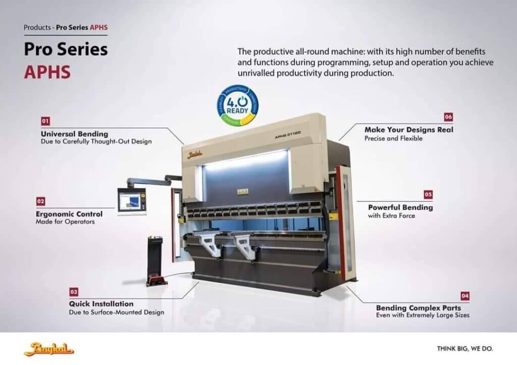 Vossi Group Oy on maahantuonut Baykal särmäyskoneita vuodesta 1999 alkaen ja niitä on käytössä useita satoja niin ohutlevy- kuin raskaammassa teollisuudessa. Hydraulisia koneita Baykal valmistaa kahta eri sarjaa APHS ja APHE.