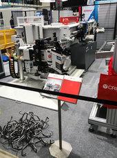 Suomen nopein CNC-putkentaivutussolu italialainen täysservotoiminen Crippa 1025E latauslaitteella toimitettiin messuilta Metalli Järvelä Oy:lle.