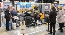 Italialaisen Macrin CNC-putkentaivutuskoneet ovat erittäin helppokäyttäisiä, nopea-asetuksisia sekä luotettavia ja ne soveltuvat erityisesti alihankintakäyttöön. Kone toimitettiin suoraan messuilta Nerkoon Metalli Oy:lle.
