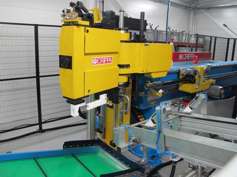 AGCO Power Linnavuoren tuotannossa on noin 200 aktiivista putkinimikettä. Crippa CA 1042 E CNC-putkentaivutuskone on hankittu varmistamaan näiden osien joustava tuotanto.