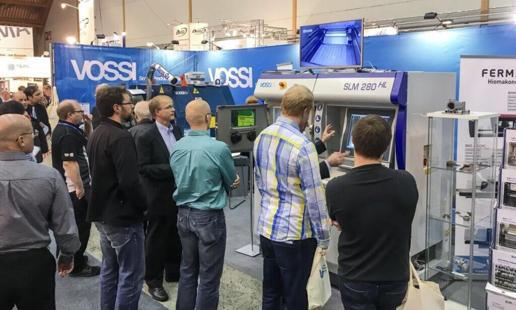 Vossi on jälleen myös mukana Alihankinta-messuilla osastolla C916. Osaston teemana Älykäs koneistus sekä 3D-tulostus ja esillä on mm. ultranopea Nexa3D NXE400 3D-muovitulostin.