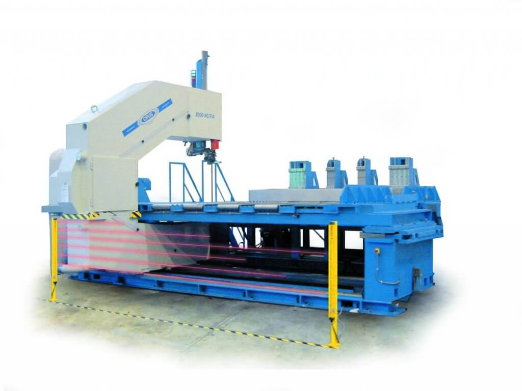 Bonetti Opus Cutting Solutions - Vertical, horizontal and special band saws