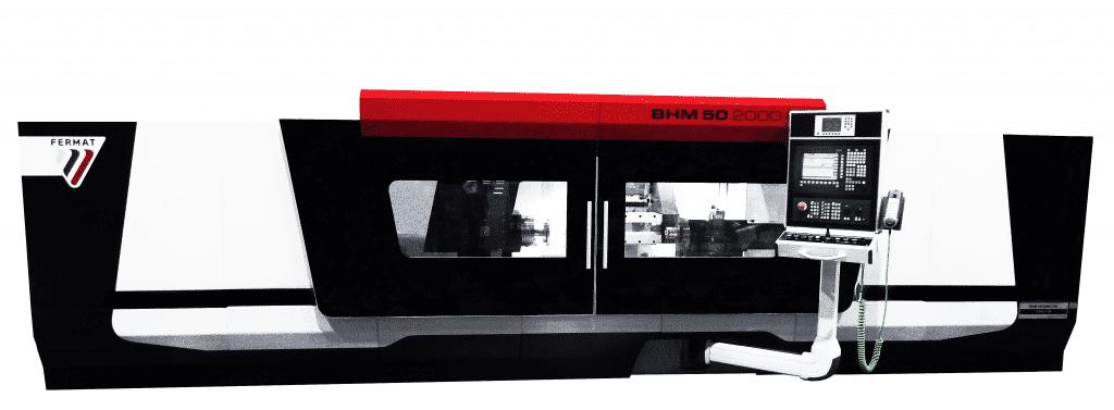 CNC-pyöröhiomakoneita Fermat valmistaa aina työkappalekoon Ø 1000 mm, pituus 6000 mm ja paino 5000 kg.