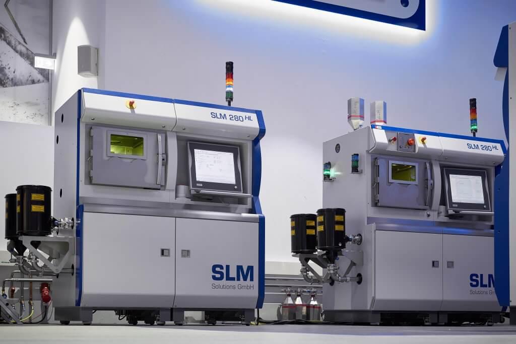 Saksalaisen SLM Solutionsin jauhepetilasersulatus suuren suorituskyvyn komponenttien valmistukseen.