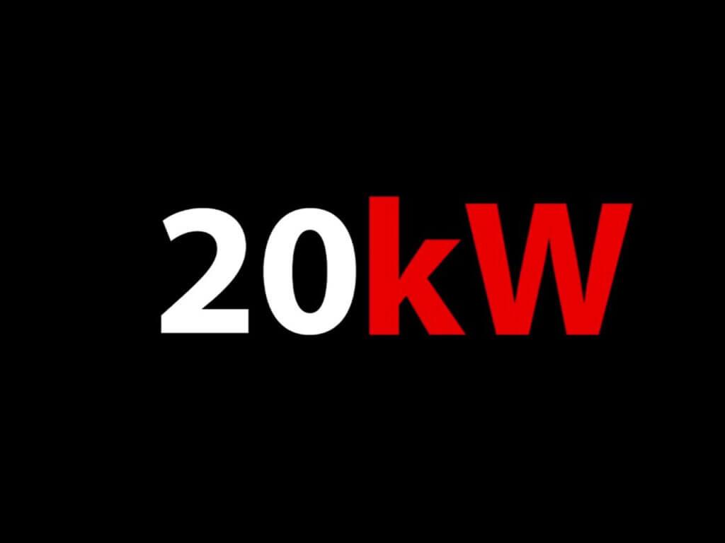 Suomen ensimmäinen 20 kW Eagle