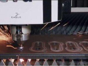 Miiluxille 15 kW Eagle kulutusteräksien leikkaamiseen