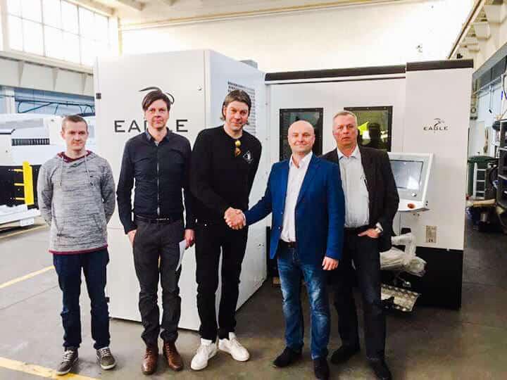 Suomen ensimmäinen Eagle kuitulaserleikkausjärjestelmä toimitetaan Siuron Metallirakenteelle.