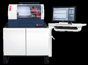 Markkinoiden kompaktein pöytämallin CNC-sorvi opetuskäyttöön, johon saatavissa vaihdettavat Fanuc, Heidenhain, Siemens ja Fagor -ohjaukset.