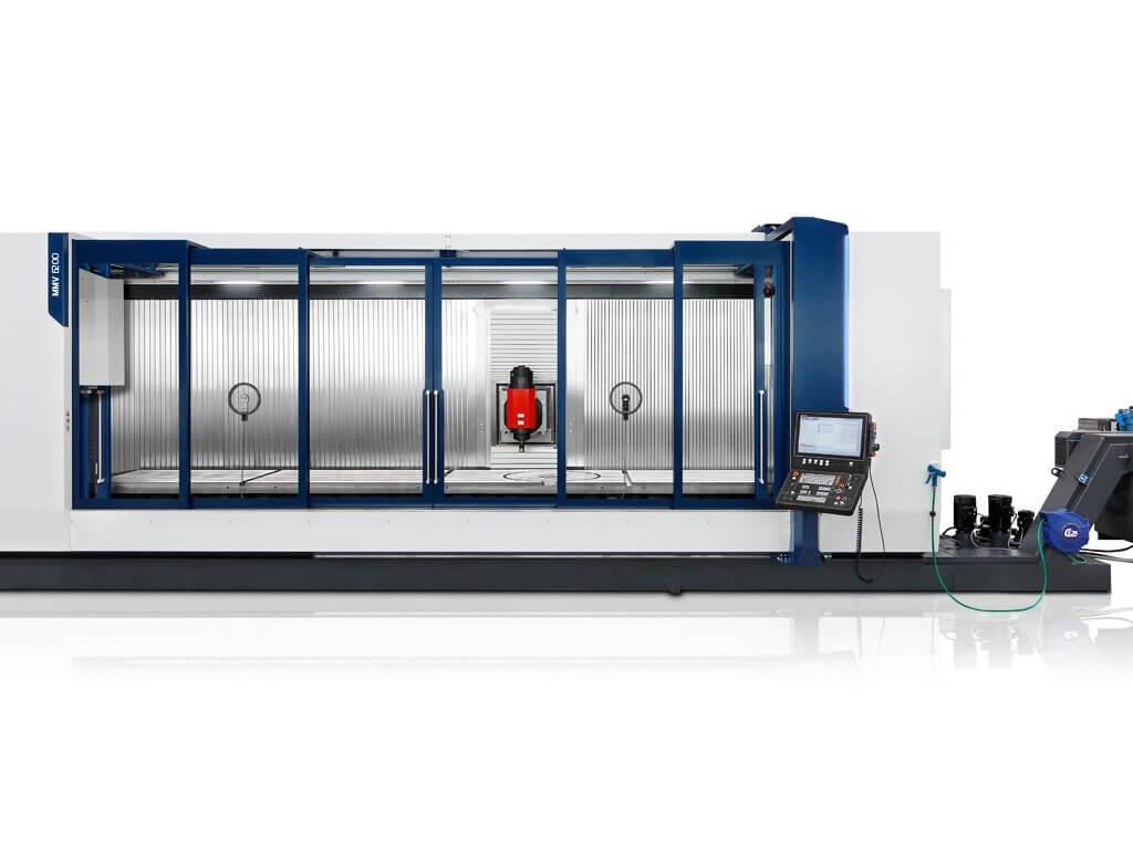 EMCO:lta laajennus liikkuvapylväisten työstökeskuksien mallisarjaan
