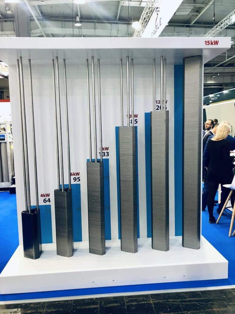 Tower of power - Paljonko samassa ajassa saa leikkattua 8 mm hiiliteräskappaleita 4, 6, 8, 10, 12 ja 15 kW laserteholla ja 6 G kiihtyvyydellä.