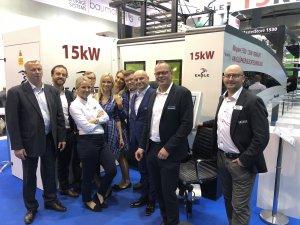 15 kW Eagle esiteltiin Euroblechissä