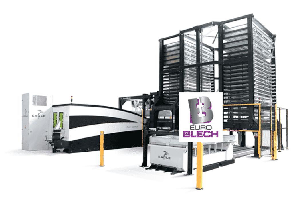 Eagle esittelee 15 kW kuitutasolaserin EuroBLECHissä