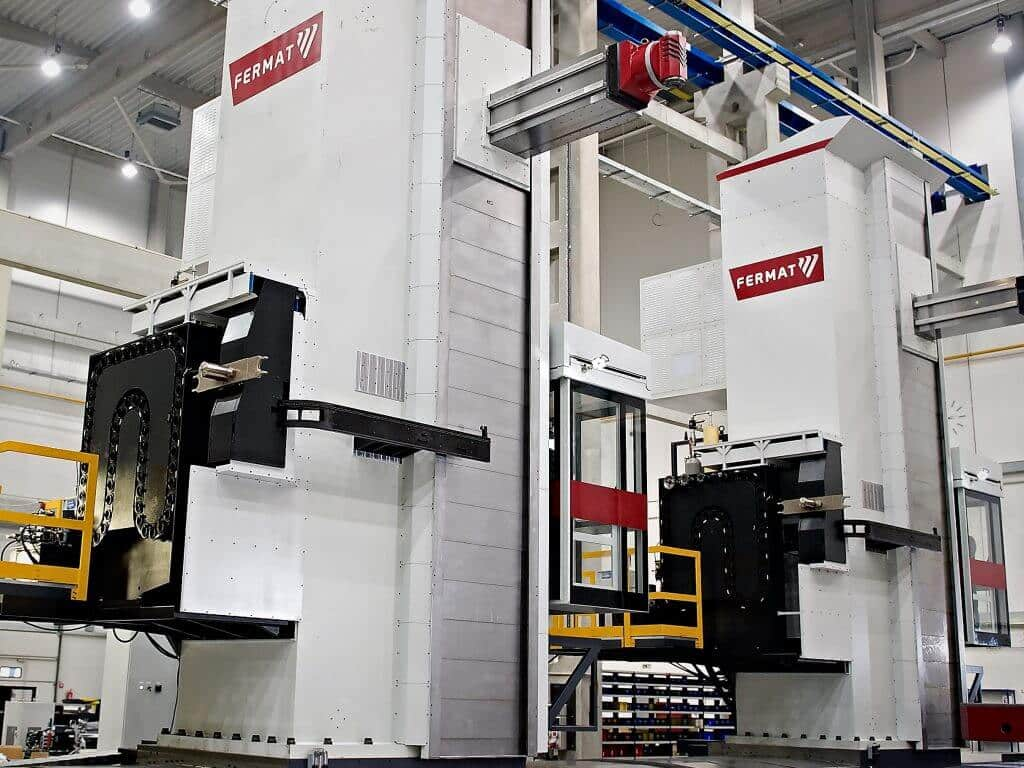 Fermat - Boring, milling and rotary grinding machines