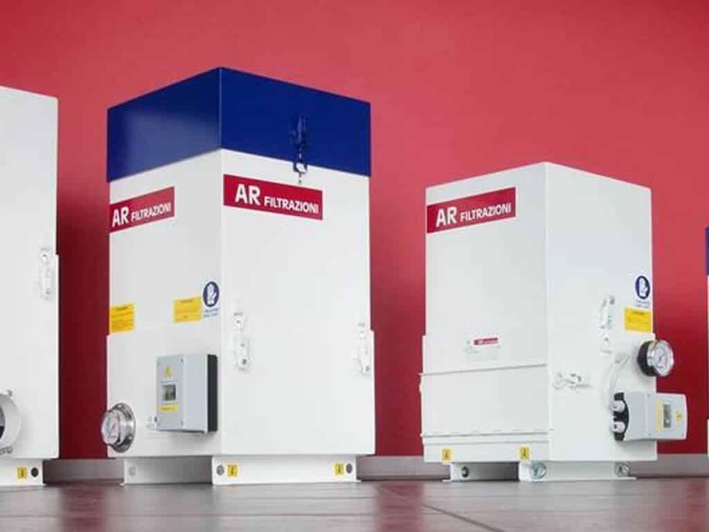 AR Filtrazioni - Öljysumu- ja savuvuodattimet