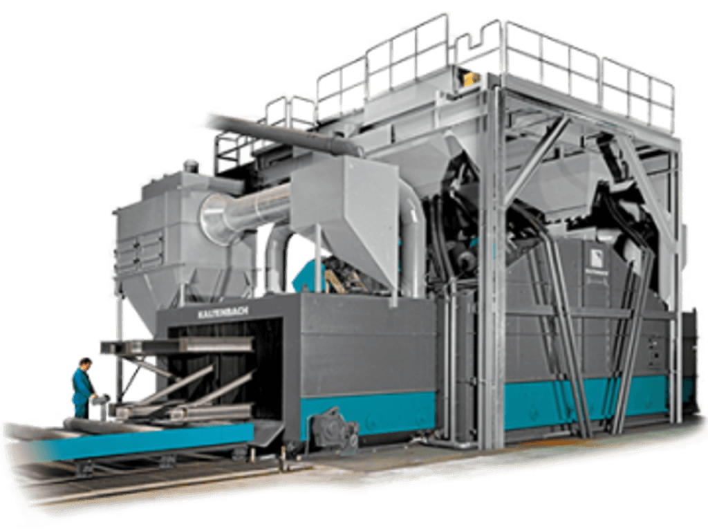 Gietart Kaltenbach Group - Shot blasting and painting systems