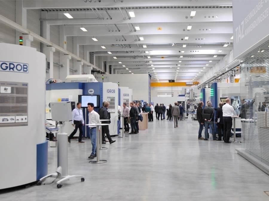 Huippudynaamisien ja -tarkkojen vaakakaraisten 5-akselikeskuksien valmistaja GROB järjestää open house-tapahtuman Saksan Mindelheimin tehtaallaan.