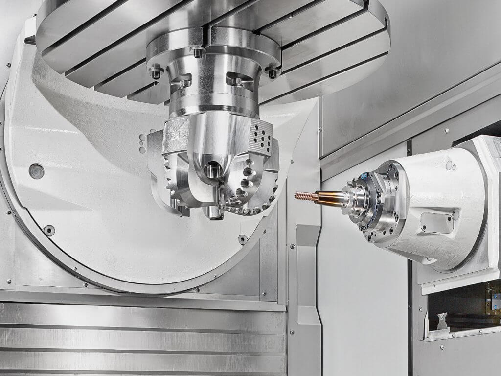 GROB - A new dimension and performance for 5-axis machining