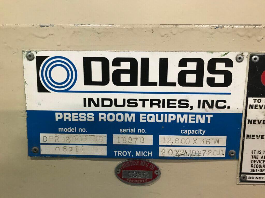 Haspeli Dallas DPR 12000-36