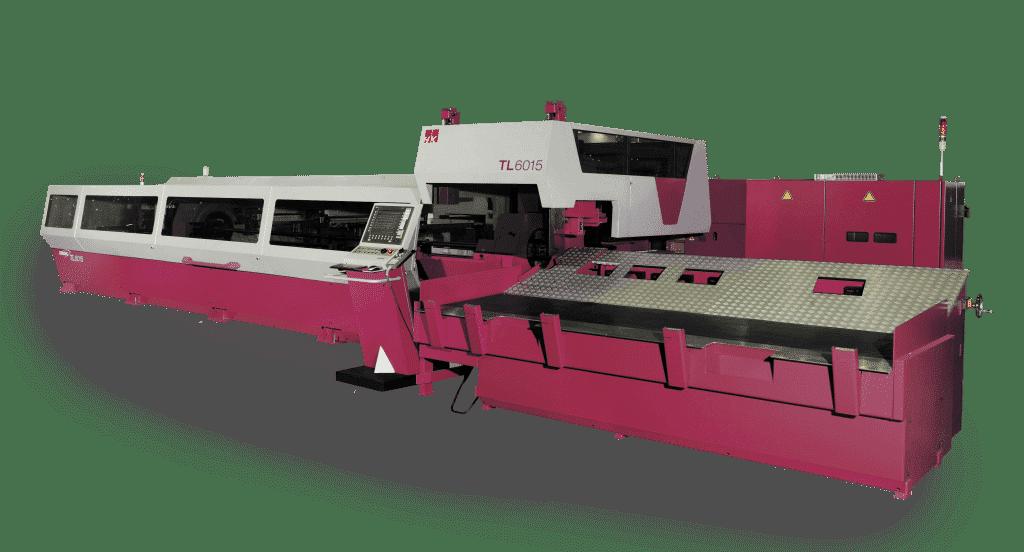 HK Laser & Systems TL 6015 kuituputkilasersolu energiatehokkaaseen ja täysautomaattiseen pyöreiden, neliö- ja suorakaideputkein leikkaamiseen.