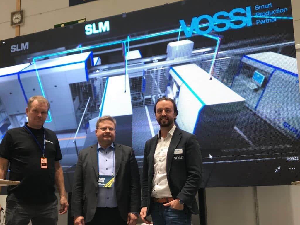 HT Laser investoi messuilla Suomen tehokkaimpaan 3D-metallitulostimeen SLM Solutions 280 2.0 TWIN 700W.