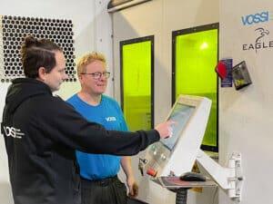 Vossin elinkaaripalvelutiimi vahvistui vastauksena asiakkaiden luottamukseen