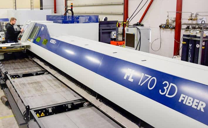 Italialainen, Suomessa Vossi Groupin edustama TTM valmistaa 3D-putki- ja tasolasereita. FL170 3D Fiber-putkikuitulaser on yrityksen yksi lippulaivamalli.