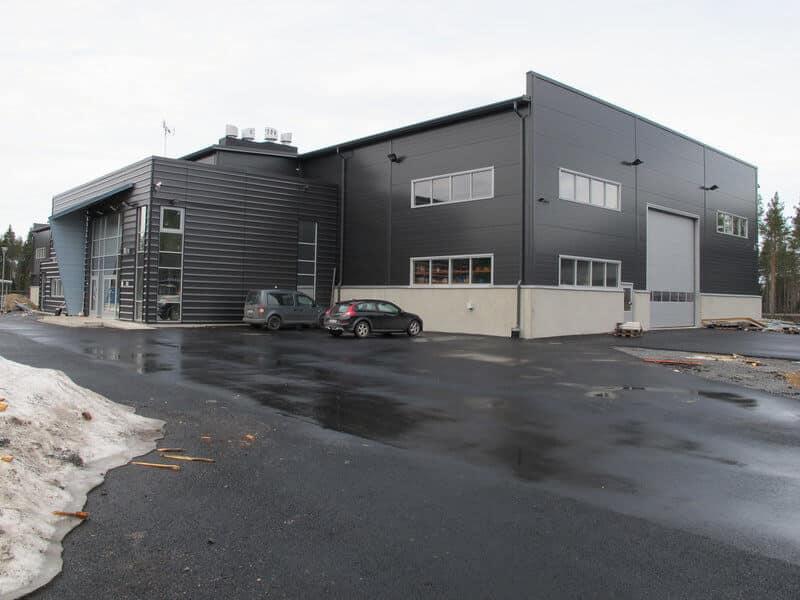 Uudet, kaiken kaikkiaan 2900 m2:n tilat vihittiin käyttöön viime joulukuussa.