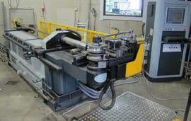 Macri Provar 5-65 U-D CNC-putkentaivutuskoneella säästettiin erään asiakkaan töissä 7 hitaussaumaa.