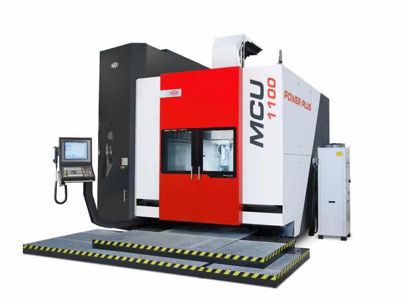 MCU VT-5X -sarjan 5-akseliset työstökeskukset pystyvät myös täysipainoiseen sorvaukseen. 700-mallin 18 000 kg ja 1100–mallin 35 000 kg painavien huipputukevien valurunkojen suljettu erikoisrakenne mahdollistaa äärimmäisen tarkkuuden.