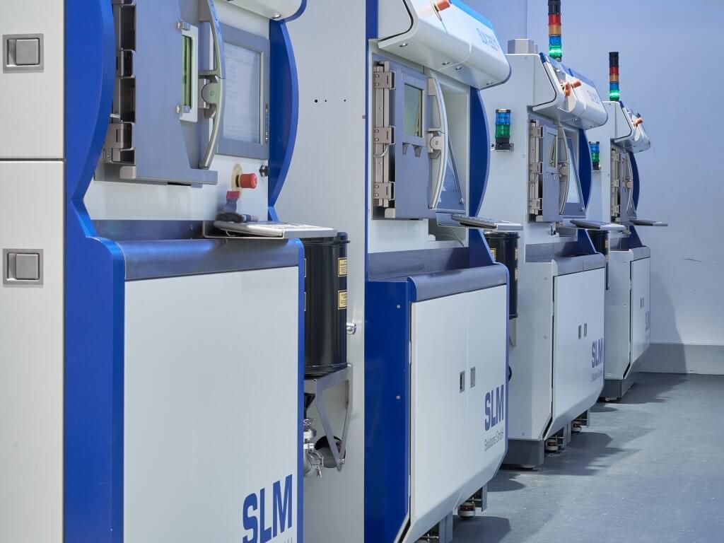 SLM Solutions - 3D-metallitulostimet