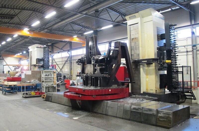 Kaksi identtistä Fermat WFT 13R CNC-avarruskonetta hankittiin uutta tuotantoa varten. Koneet ovat osoittautuneet erittäin tukeviksi, mikä takaa tarkan työstön monelta eri sivulta.