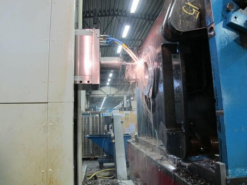 Narvan tuotantoyksikön painopiste on raskaammassa tuotannossa. Fermatit toimivat tuotannon ydinkoneina.