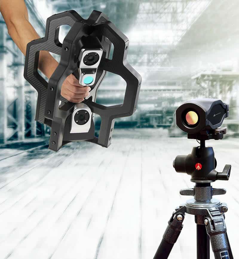 Metronor 3D-kameramittauslaitteistoon saatavissa myös Track Scan-skanneri.