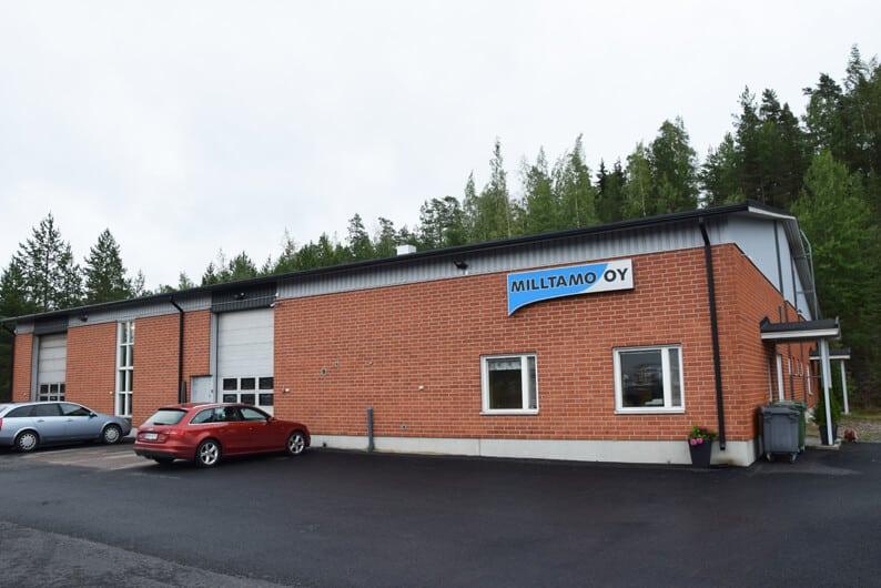 Milltamo aloitti vuonna 1987. Nykyiset 820 neliömetrin tuotantotilansa yritys rakennutti Ylöjärven Soppeenmäkeen vuosituhannen vaihteessa.