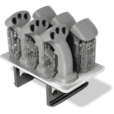 Nexa3D NXE400 3D-muovitulostimella onnistuu erittäin laadukkaiden, tarkkojen ja kestävien osien piensarjavalmistus erittäin nopeasti minuuteissa tai muutamassa tunnissa.