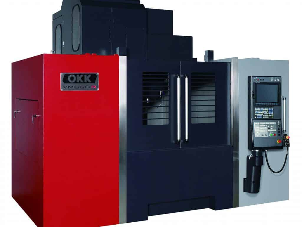 OKK - Horizontal and vertical spindles as well as 5-axis machining centers