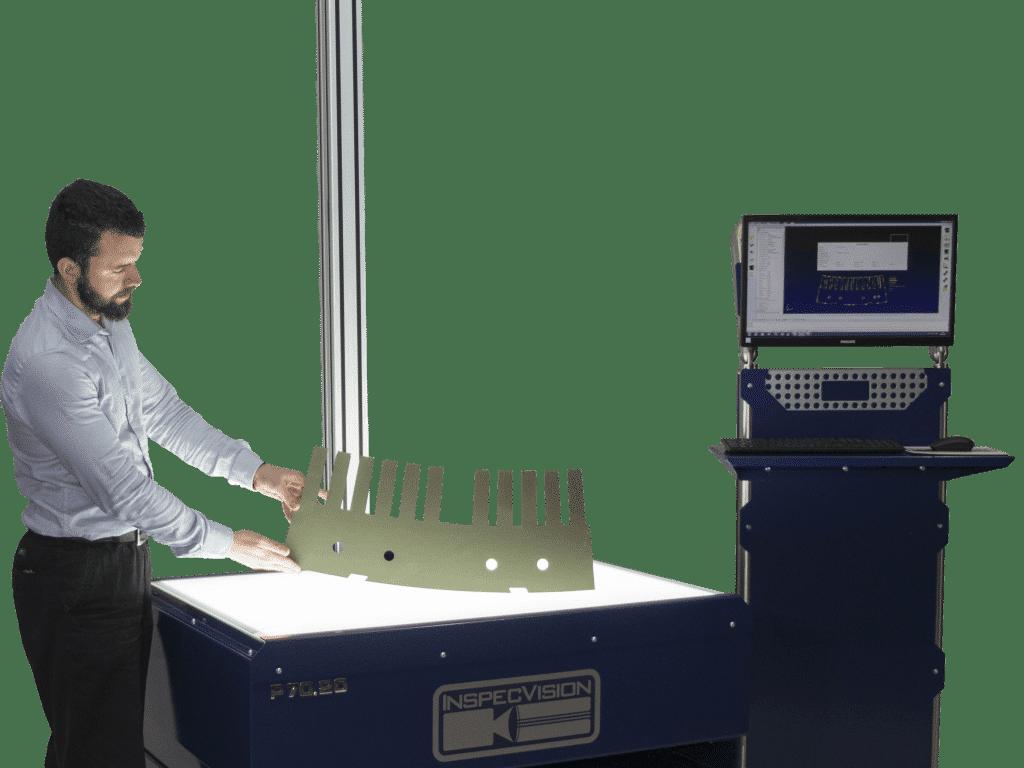 InspecVision - Mittausjärjestelmät tasomaisille kappaleille ja kaareville pinnoille