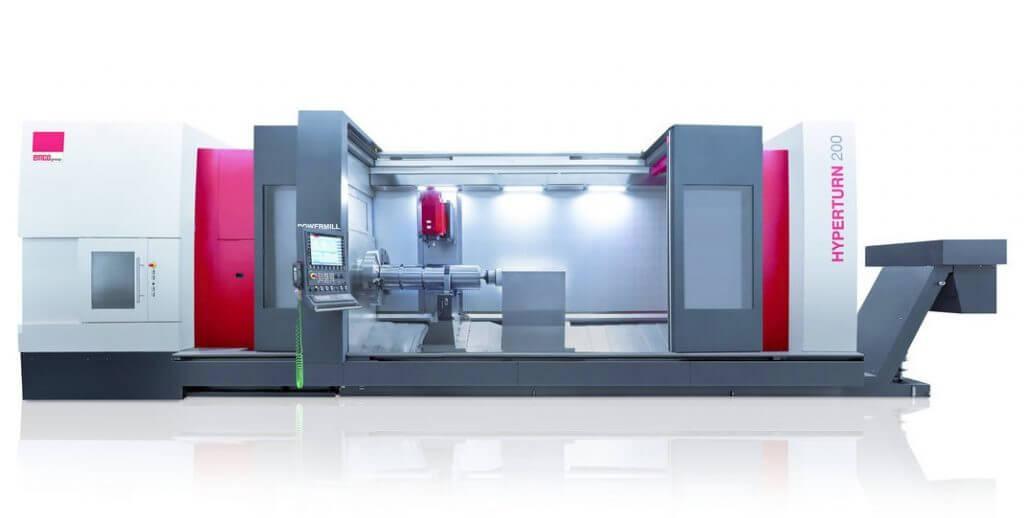 EMCO TH200 edustaa valmistajan järeintä päätä sorvaukseen. Monitoimisorvauskeskuksessa maks. pyörintähalkaisija on 500 tai 800 mm ja kärkiväli 3100-6100 mm.