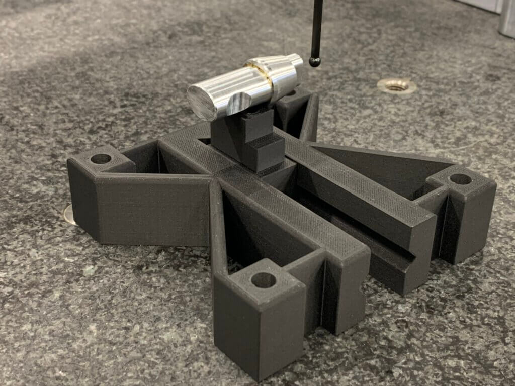 3D-komposiittitulostetut mittausjigit ovat erittäin mittatarkkoja sekä edullisia ja nopeita valmistaa.