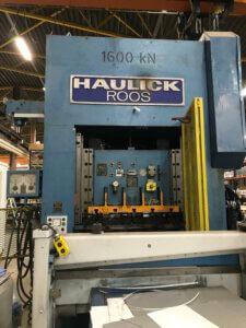 Haulick RVD 160 R puristinlinja