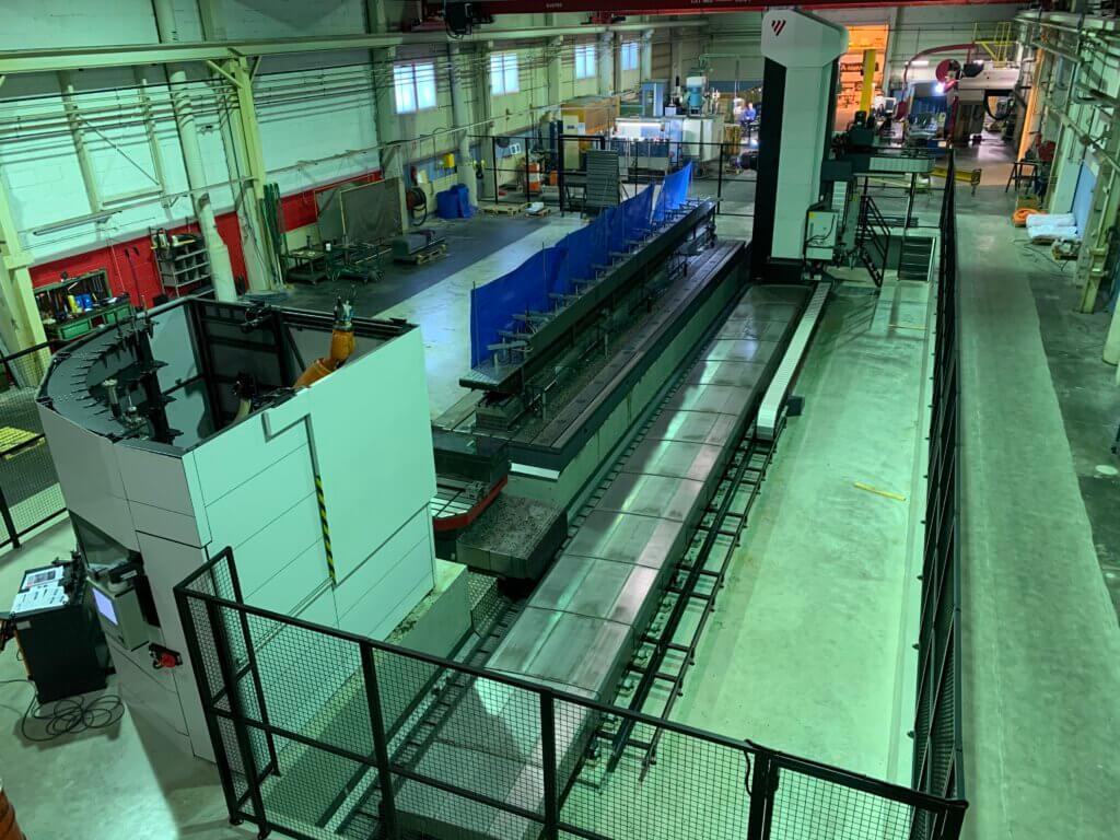 Fermat Variant 10 000 mahdollisti RTA-Metallille omassa tuotannossaan valmistaa aiempaa suurempia kappaleita entistä tehokkaammin.