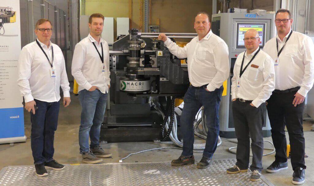 Sah-Ko on käyttänyt Macri Provar 6-90 CNC-putkentaivutuskonetta nyt noin vuoden.