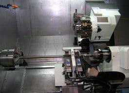 Biglian tukeva samassa kelkassa liikkuva NC-ohjattu tukilaakeri paineensäädöllä oli yksi valintaprosessin tärkeimpiä teknisiä kriteereitä Sako Oy:n konevalintaprosessissa.