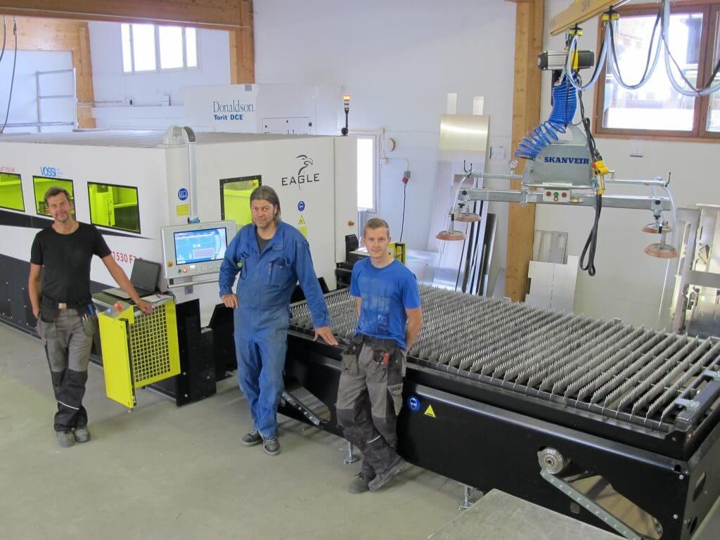 VOSSI-Asiakastarina - Siuron metallirakenne Oy
