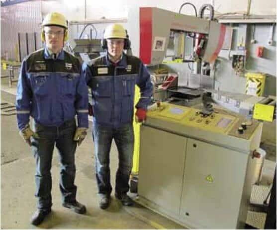 – Bomar Individual 620.460 DGANC CNC-vannesahalinja on toiminut vuoden 2011 alusta asti moitteettomasti vaativassa käytössä kahdessa vuorossa, kertovat tuotantoinsinööri Jaakko Leivo ja tuotantopäällikkö Jarkko Mäenpää.