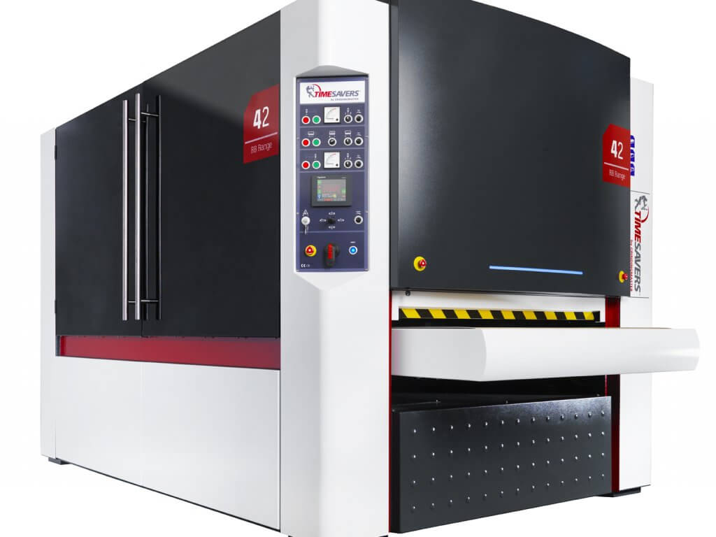 Timesavers - Deburring, edge rounding and finishing machines