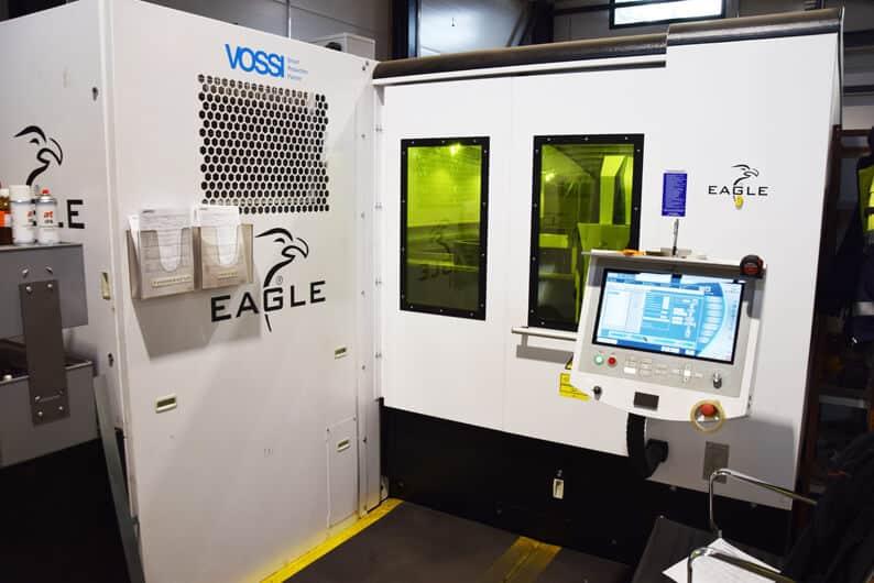 Tehokkaasti kuitulaserilla. Eaglen iNspire 6kW 6G on leikannut Toivalan Metallilla jo parin vuoden ajan.