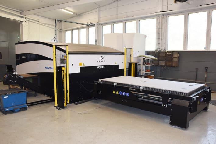 Ursus Fennicalle uusi kuitulaser on tuotannon laajennus ja siten uusi vahvistus yrityksen toimintoihin.