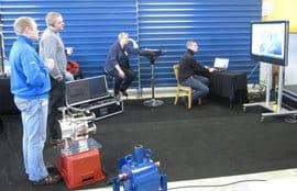 Toimitukseen sisältyi yhteensä viisi päivää käytännönläheistä mittauskoulutusta Vossin kouluttajan toimesta Vahteruksen omilla tuotteilla.
