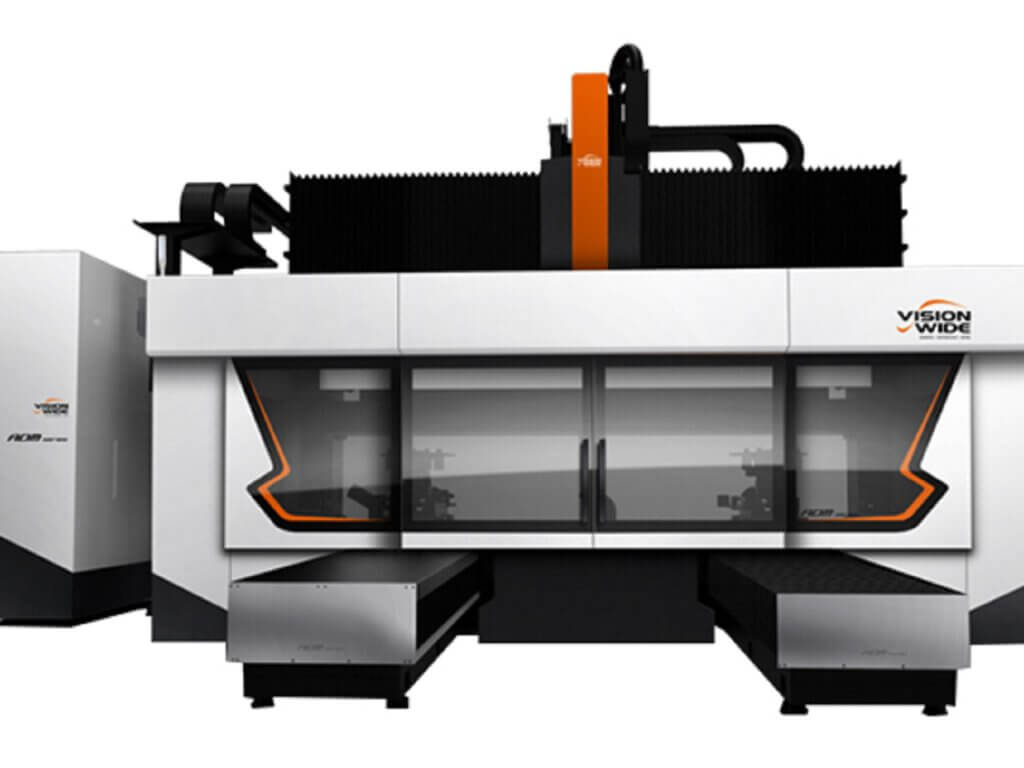 VISION WIDE - Portal machining centers